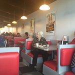 Restaurant interior,  Nick's Inn,5400 Portage Avenue, Headingley, Manitoba