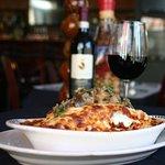 Eggplant Caponata Lasagna