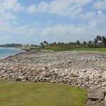 Arrecife Hole 8 par 4 towards hole 9 and the club house