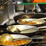 From classic Indian dishes to the Masters' specialities