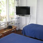 Ground floor - single beds/TV