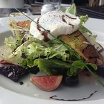 An Apple,Beet & Feta cheese Salad with Balsamic….