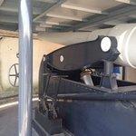 One of the underground guns