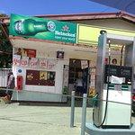 Cuvu Supermart, liquor shop and petrol