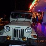 Jeep ride at night