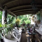 Hunte's Garden Balkon