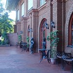 Nice old style red brick architecture