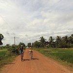 Amazing Cycling through Cambodia Countryside