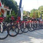 Cycling in Kampong Chhnang