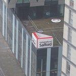 University of Salford Media City is 50m