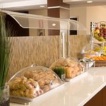 Breakfast Buffet Pastries and Fruit