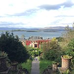 View over Bantry Bay from the top garden