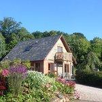 Heron Lodge in summer