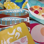 Tableware by Jenny Duff in Ramsgate, from £10.95 a mat