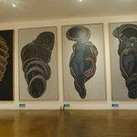 En el último modulo algo de arte abstracto de artistas zacatecanos