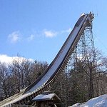 Largest man-made ski jump