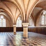 Le réfectoire des convers - abbaye de Royaumont