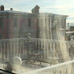 Broken window seal = cloudy ocean view:(