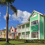 Colorful houses in Samana