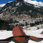 A panoramic view of the mountains from the room. Sensational!