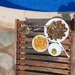 Mejillones frescos a la plancha