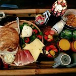 our world famous breakfast served in your room