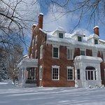 The Inn is winter post card perfect.