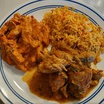 The butter chicken is just divine.