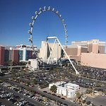 View from the 17th floor high roller suite