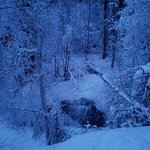 Cameron Falls in Winter