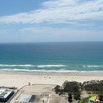 Overlooking the beach 2