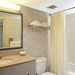 Bathroom with blowdryer