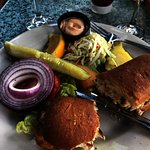 Grouper sandwich.