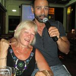 Gorgios the Karaoke guy and my wife