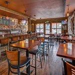 Full service restaurant, bar and patio