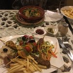 Harira and mixed grill, both delicious