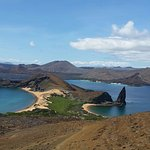 View from the Pinnacle on Bartomole Island