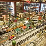 O scale train inside