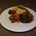 フィレ肉とロブスター