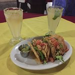 these tacos were phenomenal! (and $4 margaritas!!!)