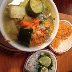 CAldo de Res (Beef Soup) Delicious!