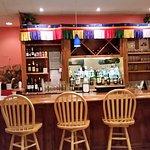 Their bar area