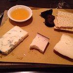 Nice cheese platter for desert