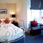 En-suite superior double room with sea view