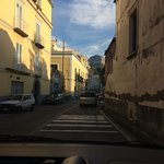 Narrow Sorrento streets