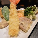Lobster and anago(sea eel) tempura