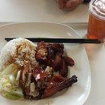 BBQ Pork & BBQ Duck on rice