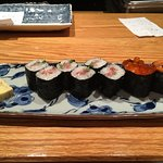 Third part of Chef's Selection of Nine Pieces of Sushi and a Roll