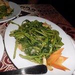 RAU MUONG (morning glory) like spinach
