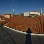 Panaromic View from Hotel Piran - Roof Top Bar (99 Steps)